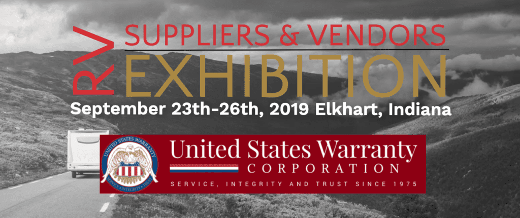 RV Suppliers Vendors Exhibitions graphic